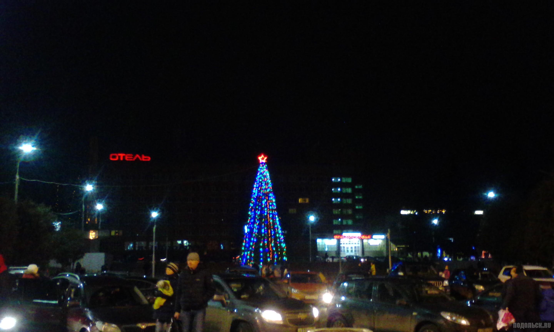 """Вид от ДК """"Октябрь"""". 2 января 2018 г."""