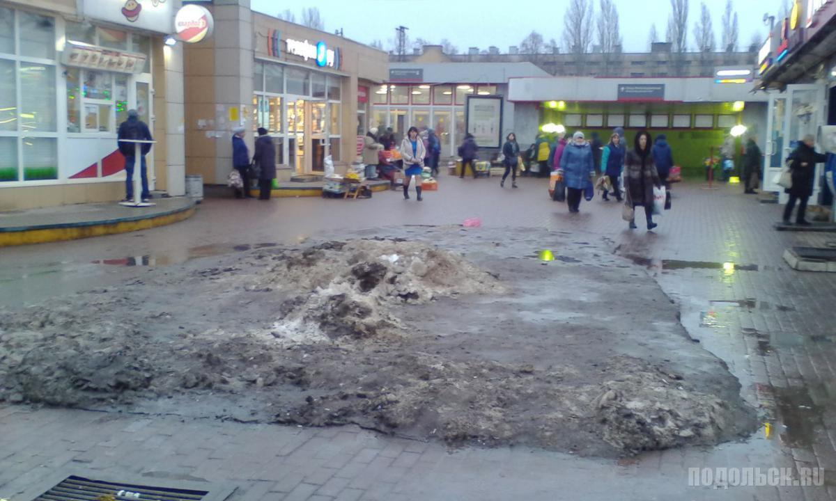 Станция Подольск. 30 декабря 2017 г.