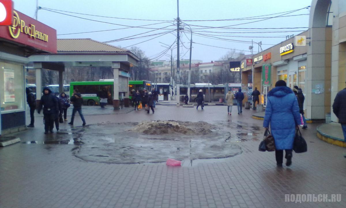 Автостанция Подольск. 30 декабря 2017 г.