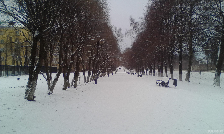 После снегопада. 6 января 2018.
