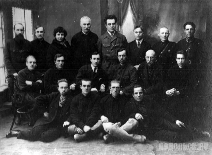 Работники суда и прокуратуры Подольска. 1926 г.