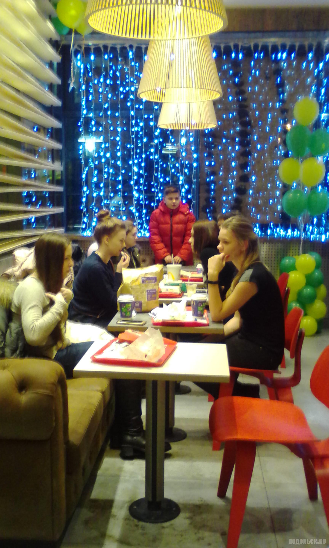 """""""Макдоналдс"""" в Климовске. 15 января 2018."""