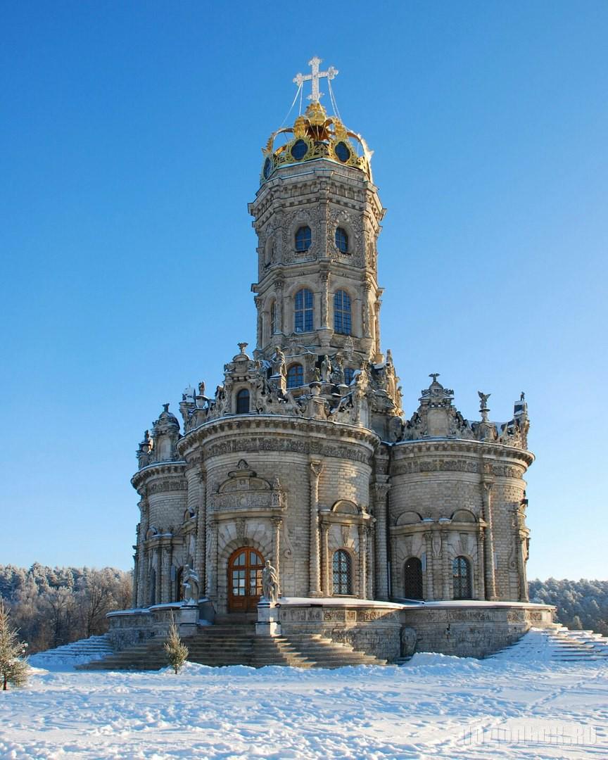 Храм Знамения Пресвятой Богородицы. Январь 2018