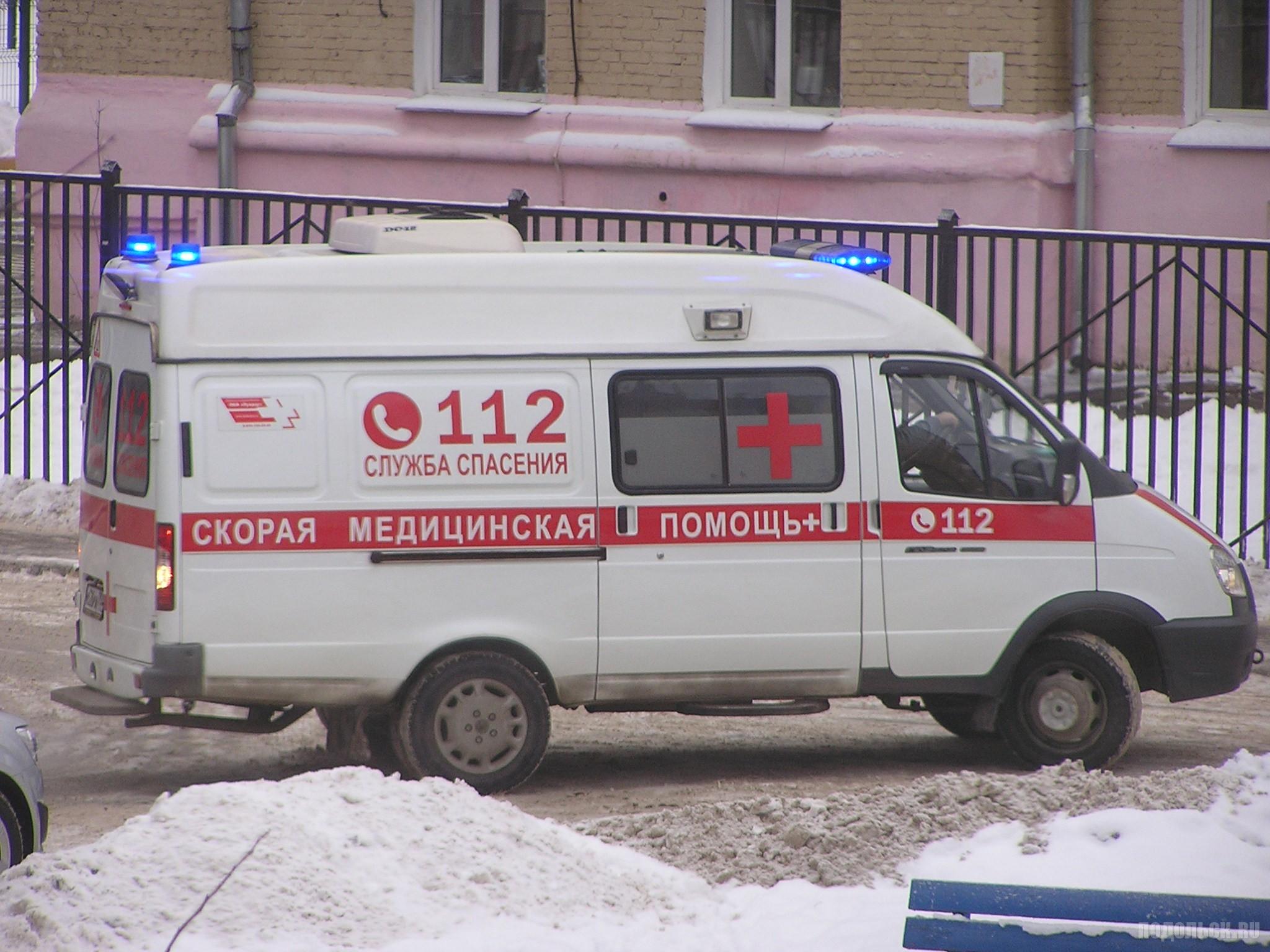 Машина скорой помощи. Январь 2018