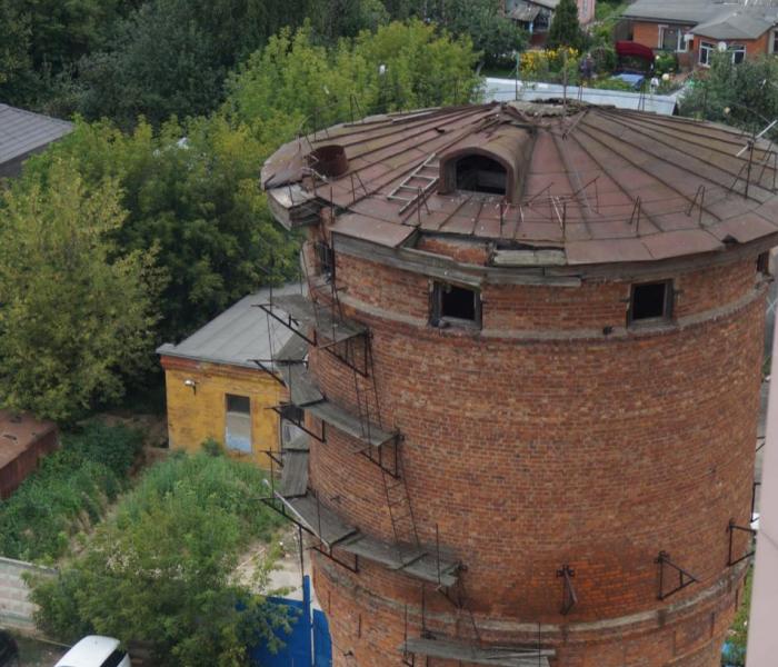 Водонапорная башня на ул. 40 лет Октября. Будущий культурный центр