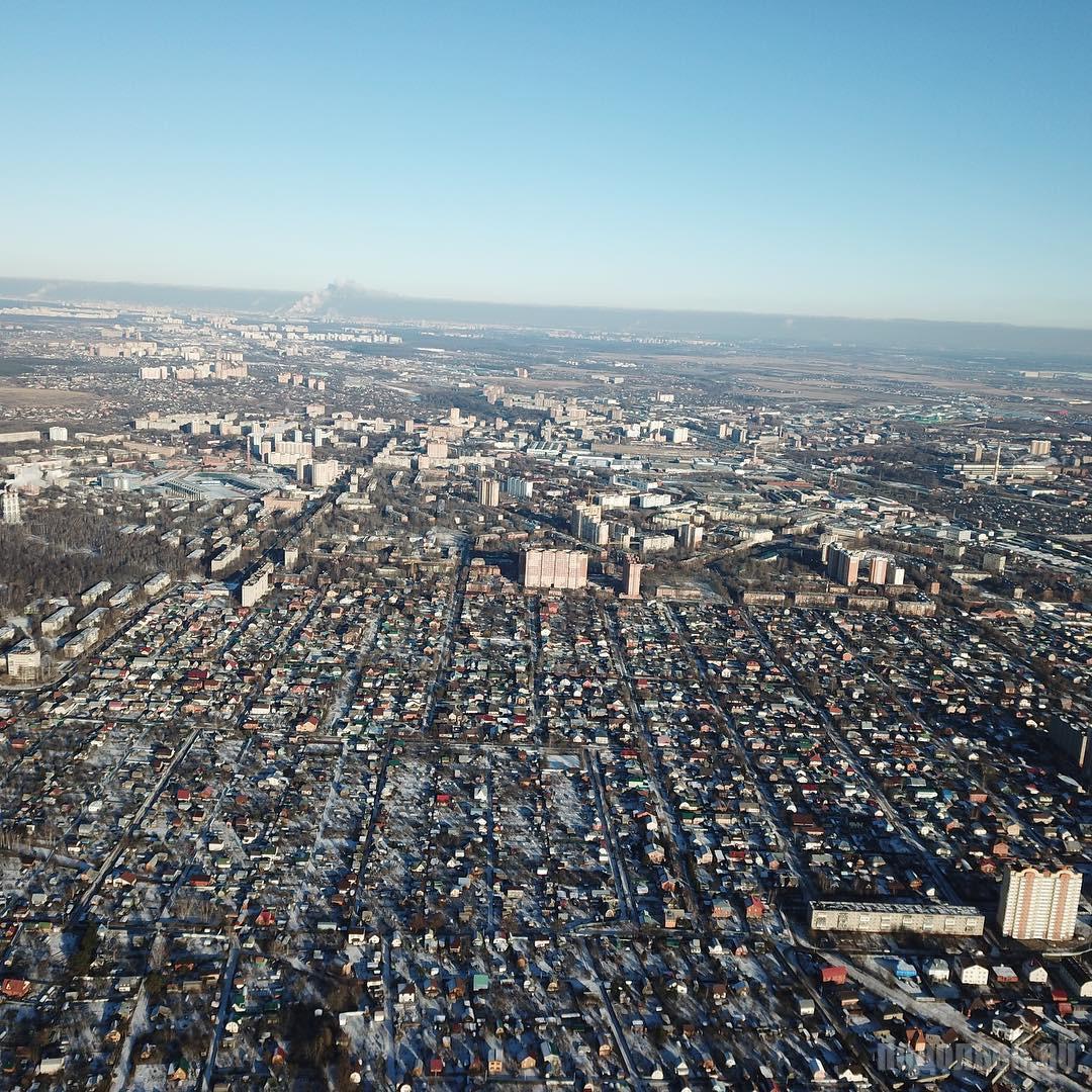 Вид от д. Северово. Февраль 2018