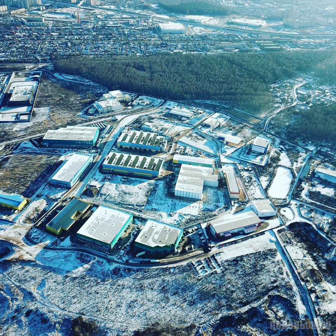 Вид от промзоны в д. Северово