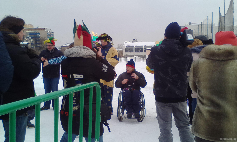 Четырехкратный чемпион мира по армрестлингу паралимпиец Михаил Зверев