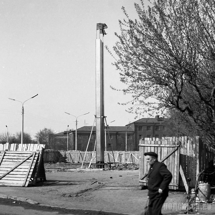 Вокзальная площадь. 1969 г.