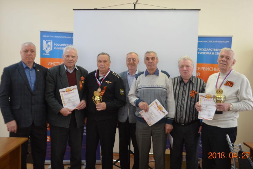 Ветераны - победители соревнований по стрельбе