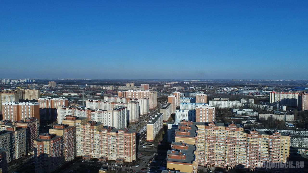 Вид из Родников на Силикатную. 2017