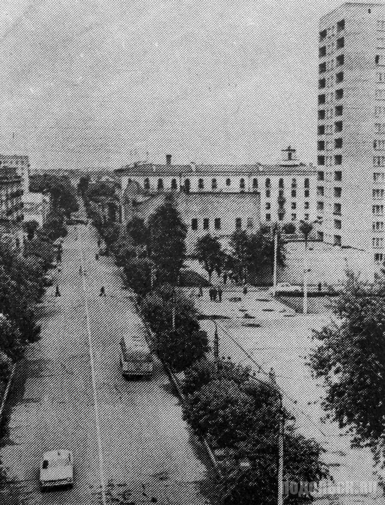 Революционный проспект. 1972 г.