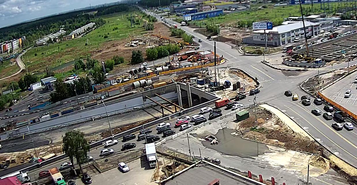 Реконструкция Варшавского шоссе. 2 июля 2018
