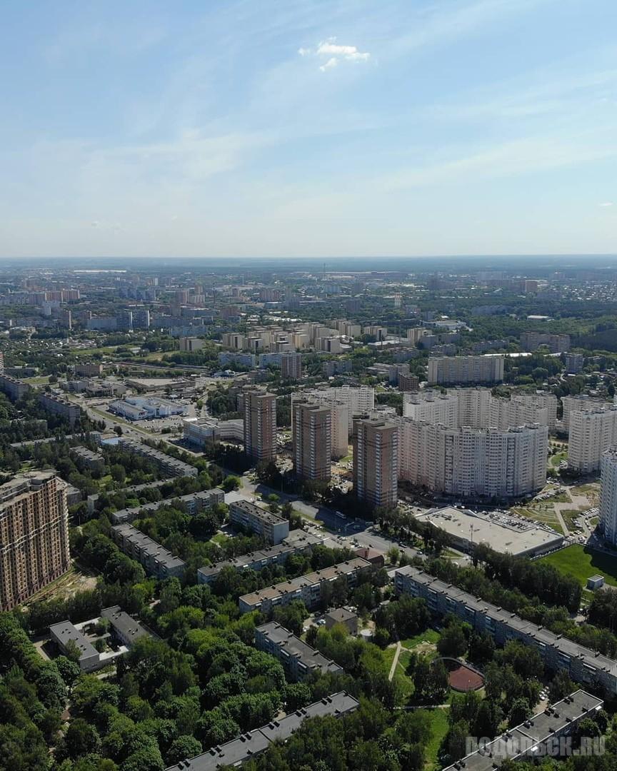 """Вид на """"Подольские Просторы"""". Июль 2018"""