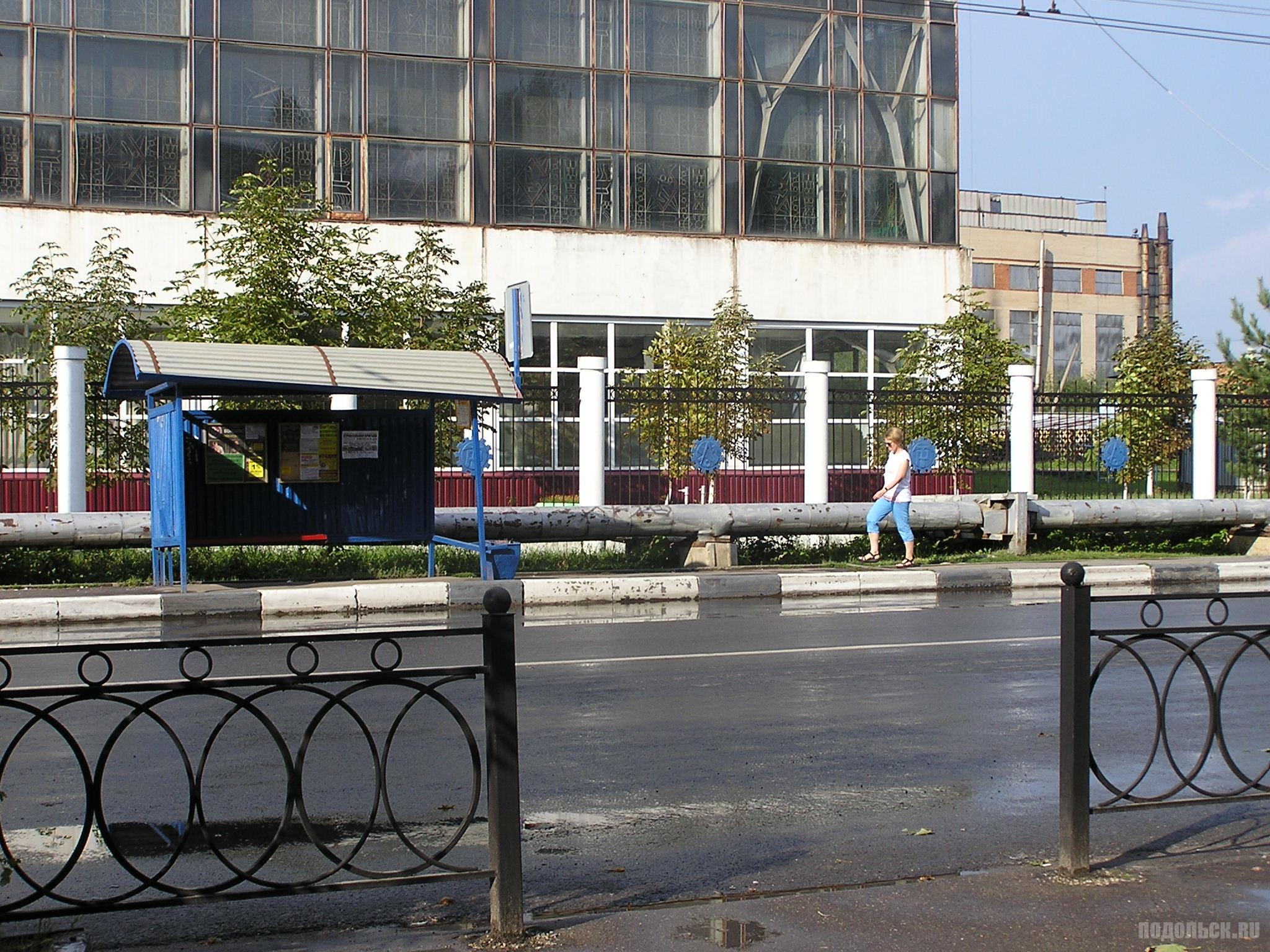 """Автобусная остановка """"Маринка."""