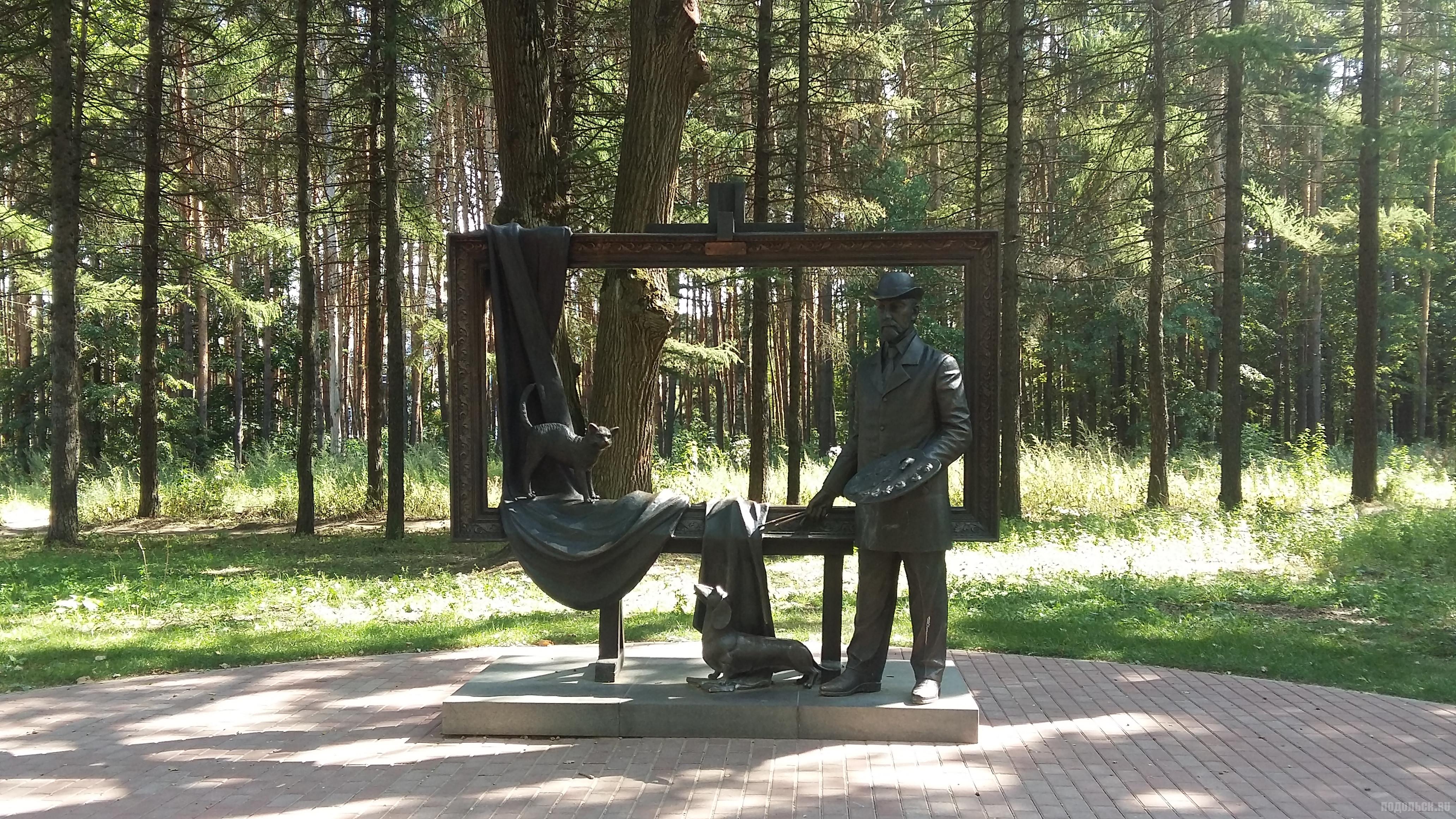 Памятник В. Поленову.