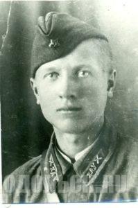 Серёженко Василий Иосифович, курсант ПАУ