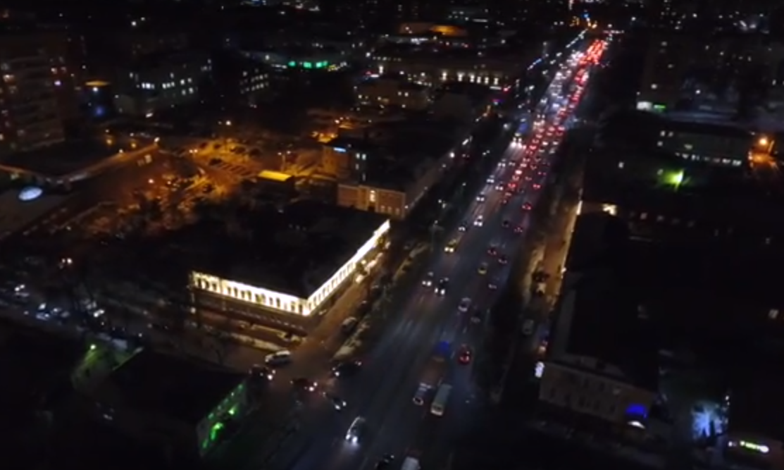 Проспект Ленина осенью 2016