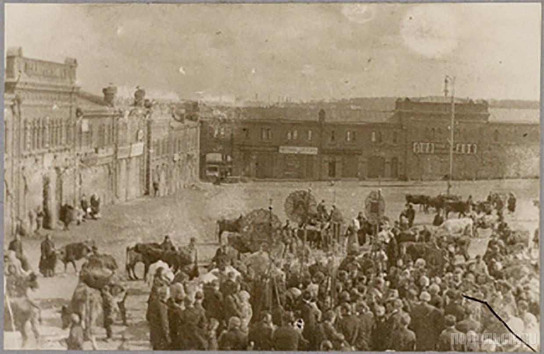 Сенная (Советская) площадь. 1910 г.