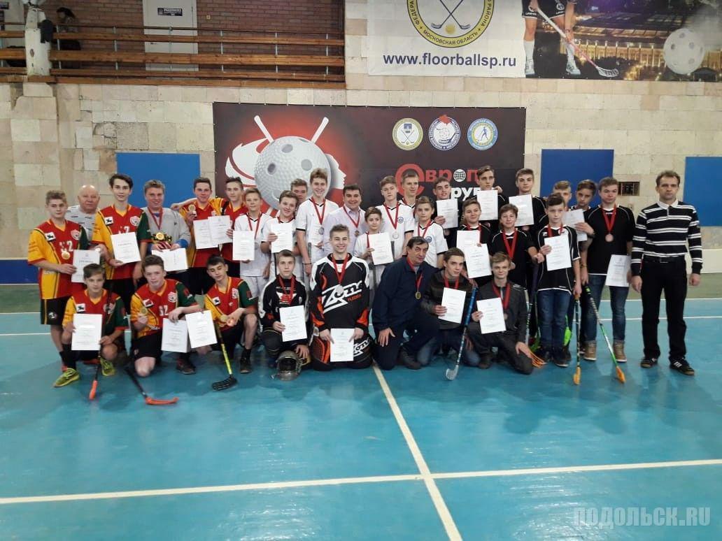 2 декабря 2018 г. в Сергиевом Посаде на первенстве Московской области по флорболу среди юношей до 16 лет команда Подольска заняла 3 место.