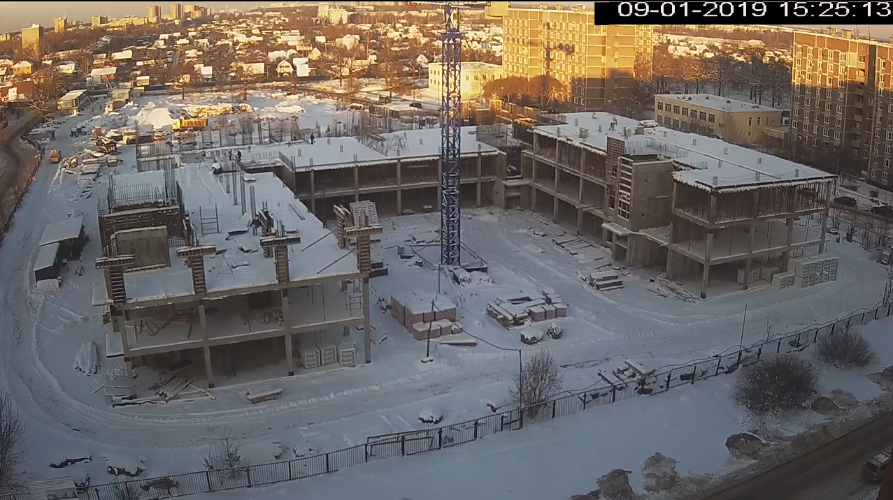 Строительство школы в Климовске 09.01.2019