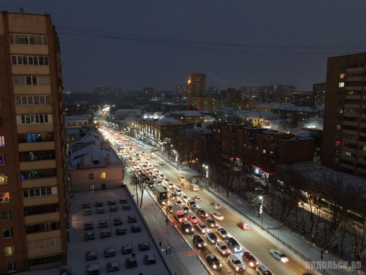 Конец проспекта Ленина 12.2018