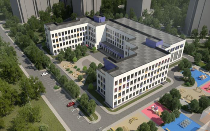 Будущая школа на Бородинском бульваре. Проект