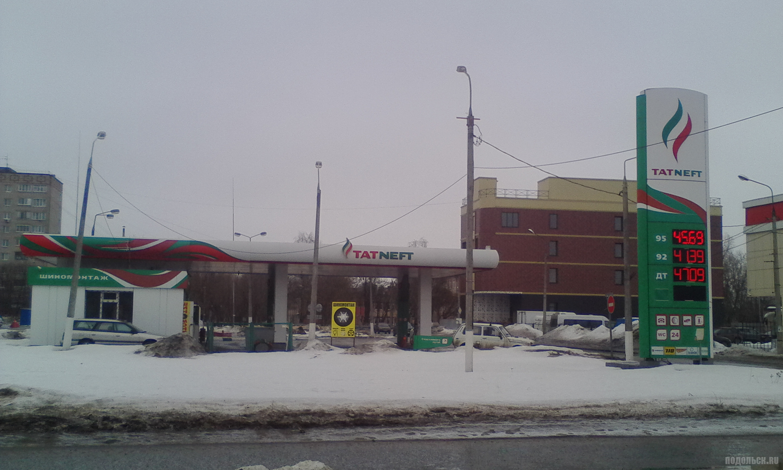 АЗС Татнефть, Климовск, март 2019