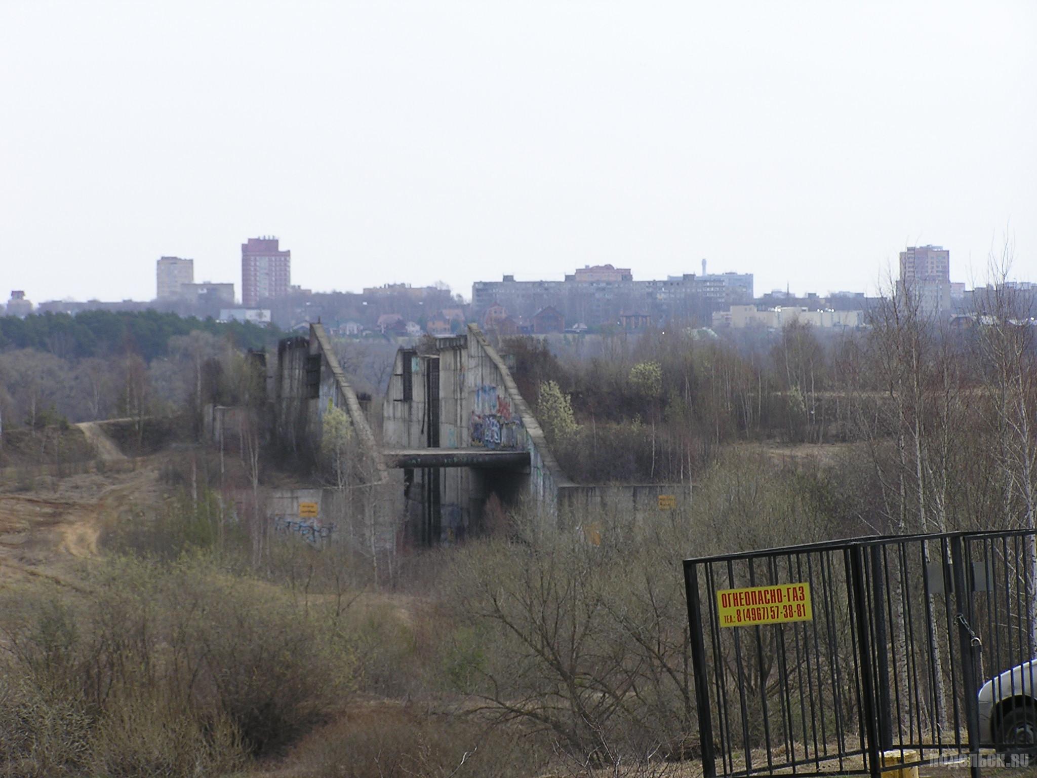 Плотина Подольского моря. Апрель 2019