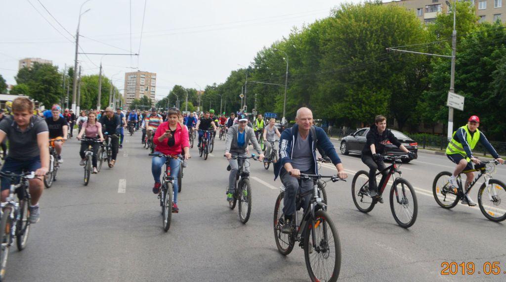 Велопробег 25 мая 2019