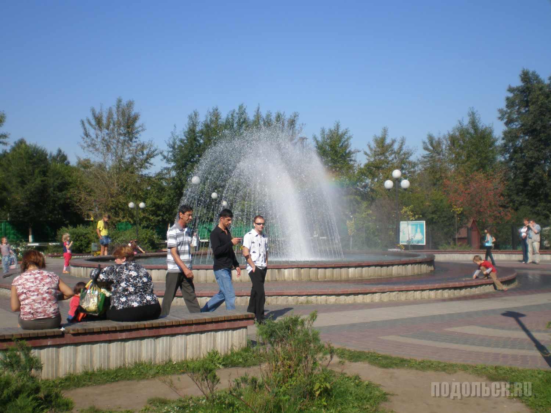 Щербинка, у фонтана