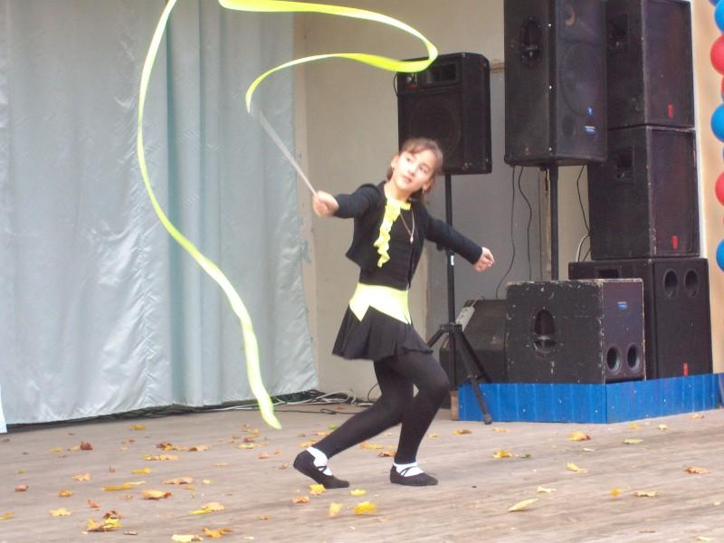 """Зайцева Анастасия, """"Танец с лентой""""."""