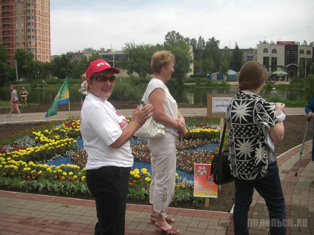 VIII фестиваль Цветы Подмосковья 2010