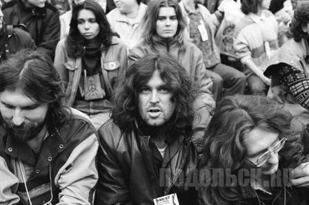 На рок-фестивале в Подольске