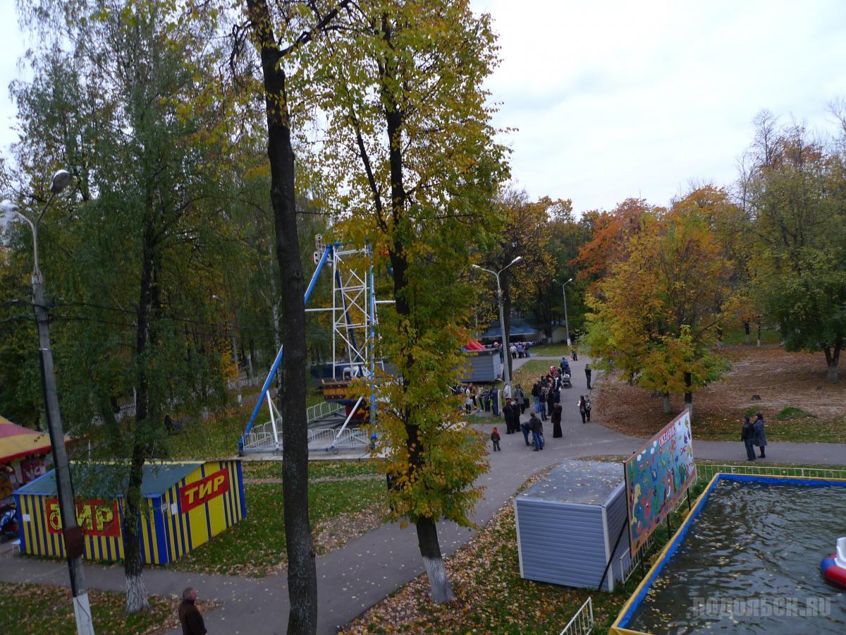 В парке им. Талалихина.