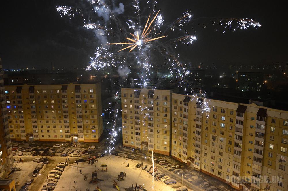 Новый год на Литейной