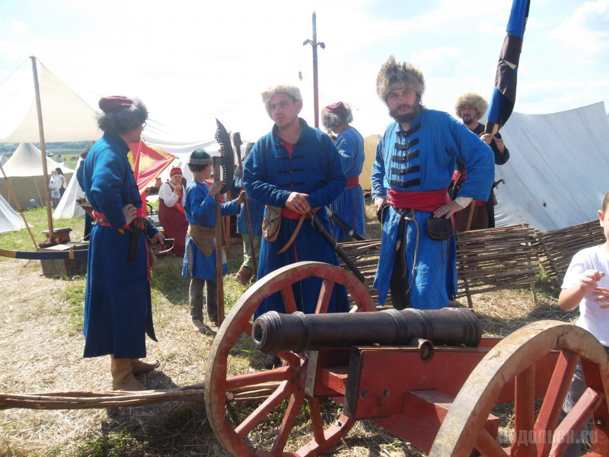 17 - 18 августа недалеко от Подольскапрошел фестиваль «Стрелецкая слобода», посвященный истории России XVII века.