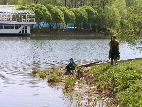 здесь бы жил да ловил рыбу