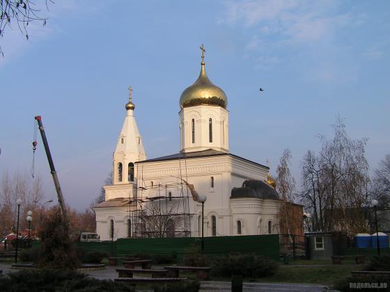 Строительство храма иконы Всецарицы в Щербинке