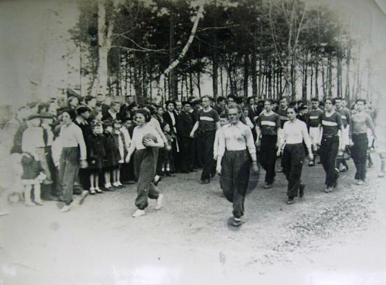 Спортивный праздник на стадионе «Зенит» за парком
