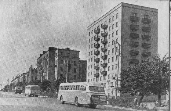 Подольск 1950-60-х гг.