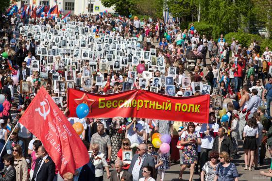 День Победы в Подольске