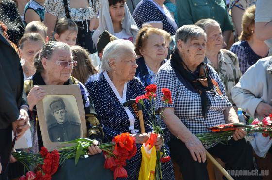 День Победы в Климовске