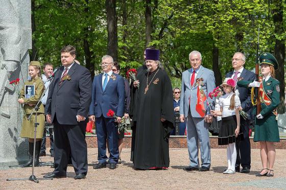 Выступление главы Подольска