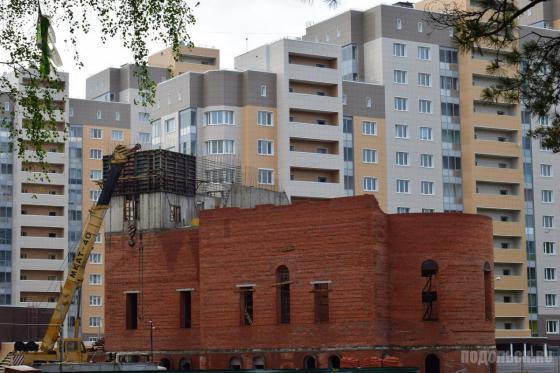 Строительство храма святого равноапостольного князя Владимира