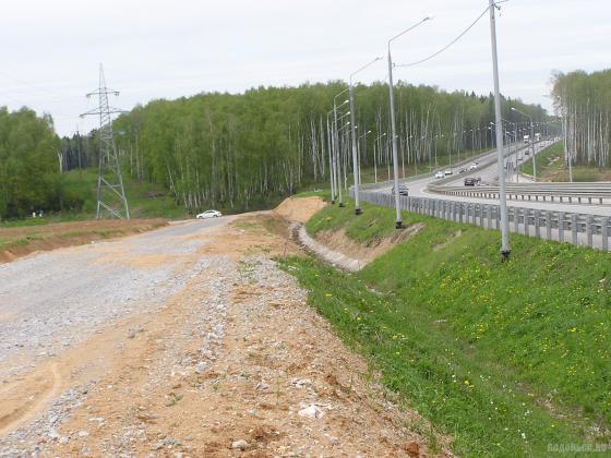 Дорога вдоль ЮО