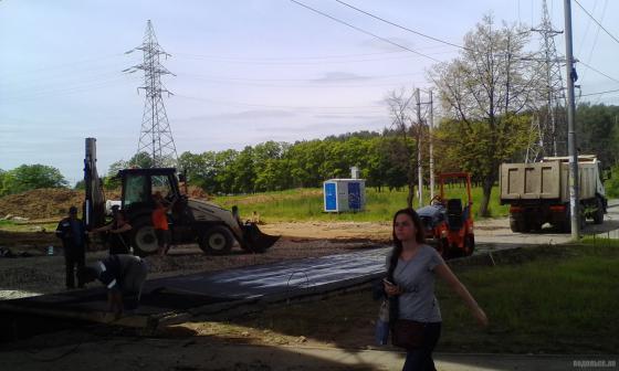 Восстановление дороги на Весенней