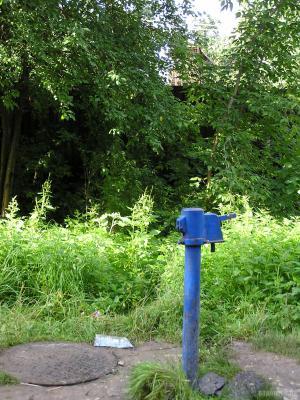 Колонка водопроводная в Подольске