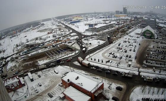 Строительство тоннеля на Варшавском шоссе 16.02.2018