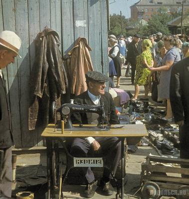 Старый рынок на улице Свердлова, 1970-е гг.